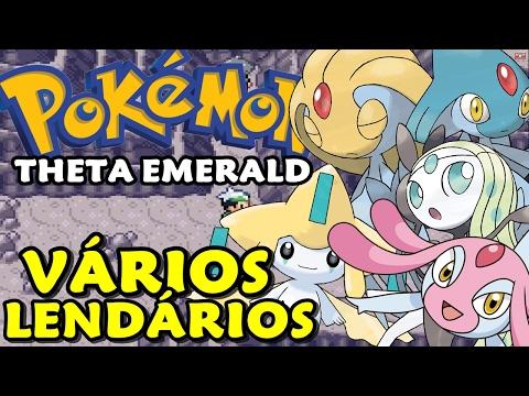 Pokémon Theta Emerald (Detonado - Parte 38) - Azelf, Uxie, Mesprit, Meloetta e Jirachi