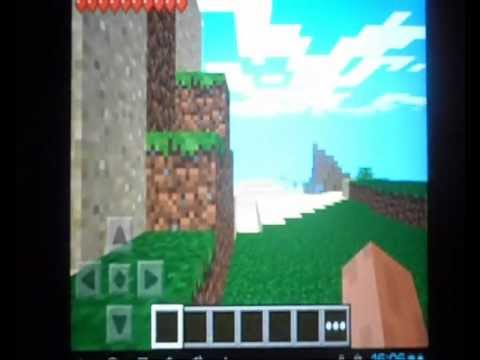 Minecraft PE get bunch of tnt and flint and steel in less than 2 minutes
