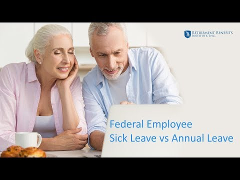 Federal Employee Sick Leave vs Annual Leave