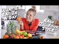 What I Eat In A Day: Raw 'Til 4 Style * Vegan, Plant-Based *