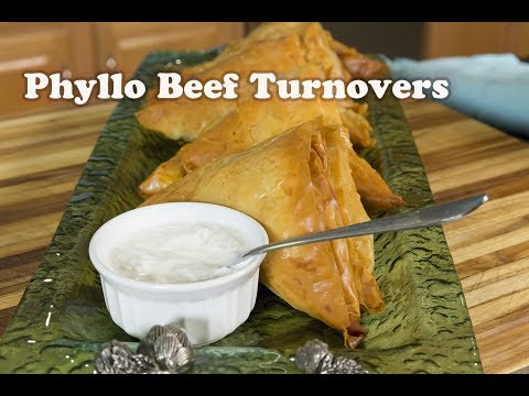 Phylo Beef Turnovers