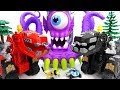 A Deep Sea Monster Is Appeared Dinotrux Defeat The Monster Together ToyMart TV