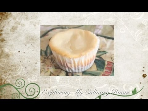Exploring My Culinary Roots - Mini Cheesecake Cupcakes