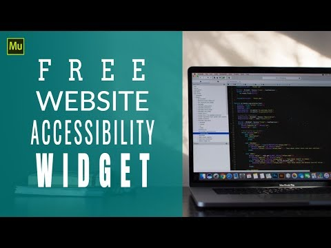 Free Muse Website Accessibility Widget