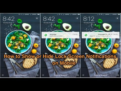 How to Hide Lock Screen Notifications on Mobile