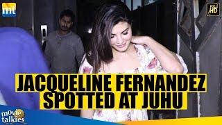 Jacqueline Fernandez SPOTTED At Juhu