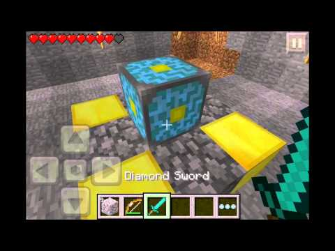 Minecraft Pocket Edition Survival: Episode 11 - Nether Reactor!!!