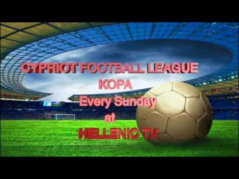 Watch on Cyta UK TV Roku box - LIVE KOPA CYPRIOT FOOTBALL every Sunday on the HellenicTV Channel