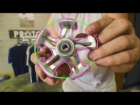 SCOOTER FIDGET HAND SPINNER TOY