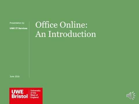 Office Online part of Office 365
