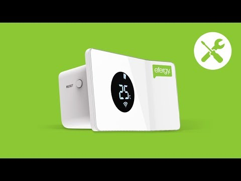 Unboxing efergy's AirControl