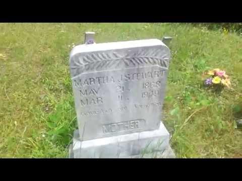 Old Cemetery In Blue Ridge Georgia