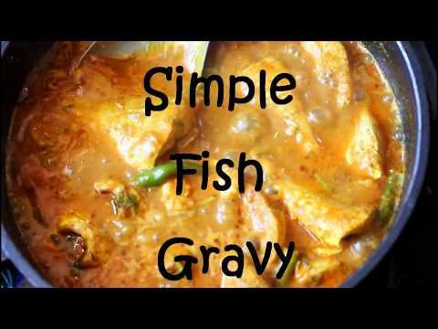 Simple Fish Gravy Recipe