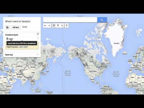 Create Interactive Maps with Google Forms and MapsEngine