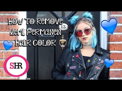 How To Remove SEMI PERMANENT Hair Color | Sophie Hannah Richardson