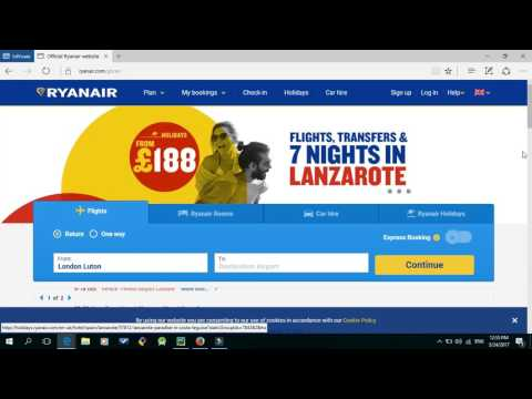 How to find the cheapest Ryanair flight tickets