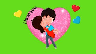 Green Screen Love Effect Pack For Whatsapp Status videos,