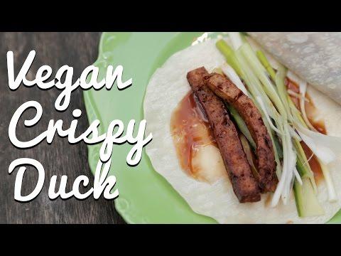 Vegan Crispy Duck Pancakes - Crumbs