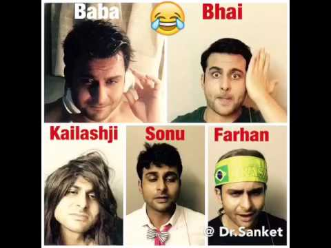 Best Bollywood Mimicry by Dr.Sanket Bhosale as Salman Khan Sanjay Dutt and Kailash kher ,n others