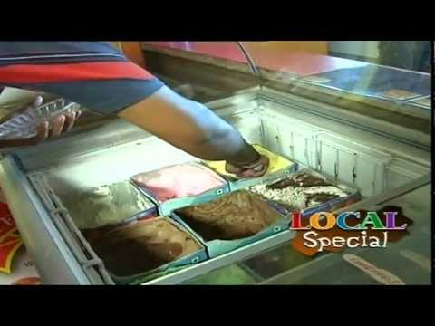 Ice Cream Recipes - Fruit Salad - Triple Sundae Ice Cream - 01