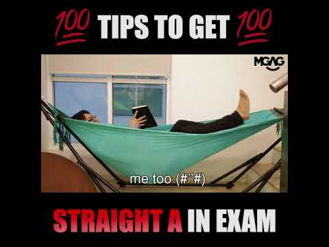 TIPS TO GET STRAIGHT A IN EXAM