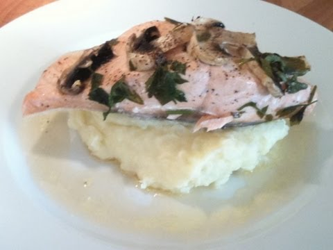 Salmon with Vermouth in Foil Cook-Along Video Part 2