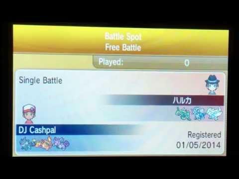 Pokemon X and Y Wifi-Battle! - Nidoking Sweep (Semi-Sweep)