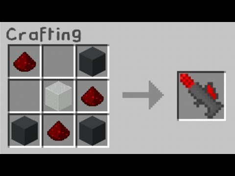 MCPE 1.2 How to make a Laser Gun | Command Block Creations