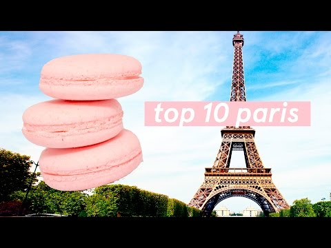 Top 10 ✨ Paris Food Tour Guide 🍳 Foods you MUST eat in France! ✨ Street Food + Affordable options