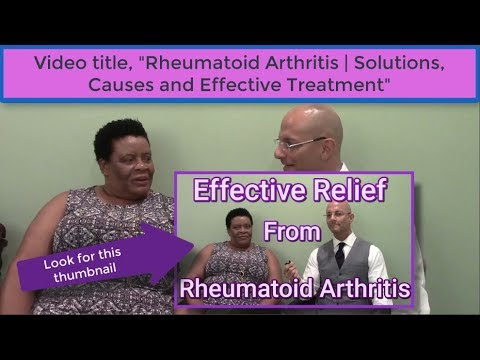 Rheumatoid Arthritis testimonial preview