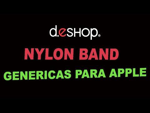 NYLON BANDS Apple Watch D.ESHOP