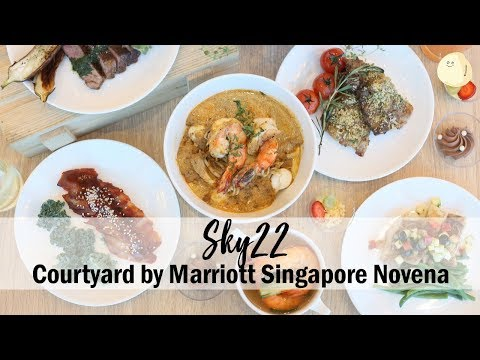 Sky22 - Buffet Restaurant At Courtyard by Marriott Singapore Novena With Stunning Views