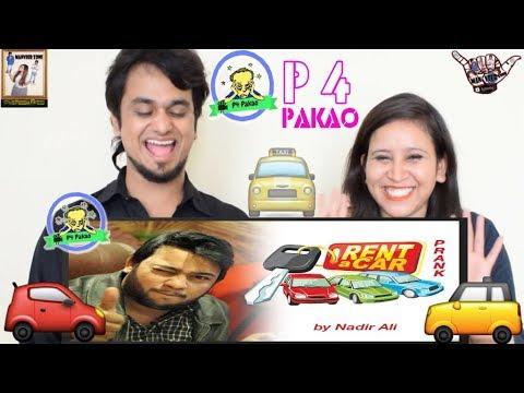 Rent A Car Pakistani Prank    by Nadir Ali in P4Pakao    Indian Reaction