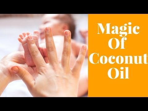 5 Magical Benefits Of Using Coconut Oil For Your Baby #NaturalRemedies