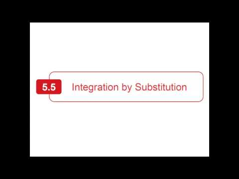 Section 5.5 - Larson Calculus - Integration By Substitution