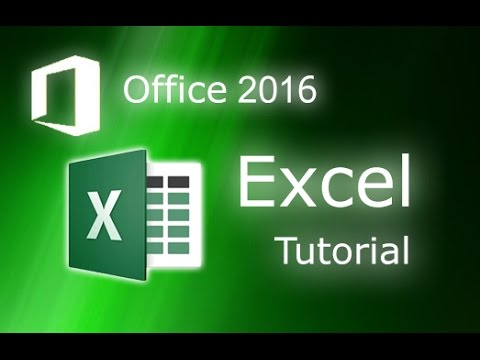 Microsoft Excel 2016 - Full Tutorial for Beginners [COMPLETE in 13 MINUTES!]*