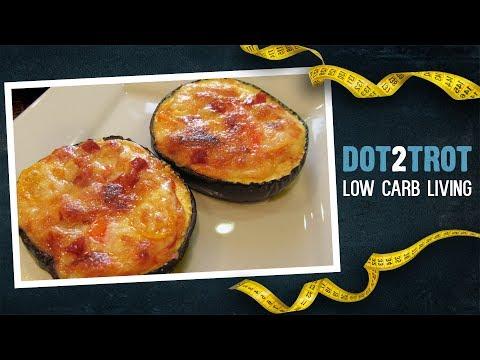 Low Carb Eggplant Pizza (Julia Child Recipe)