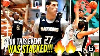 Dennis Smith, Lonzo Ball & More NBA Players BEFORE THE FAME! SUPER STACKED 2015 Adidas Nations!