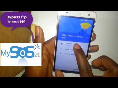 TECNO N9 BYPASS FRP reset google protection