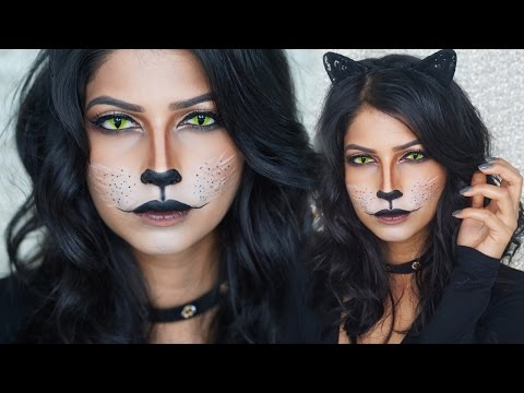 Easy Cat Makeup For Halloween!
