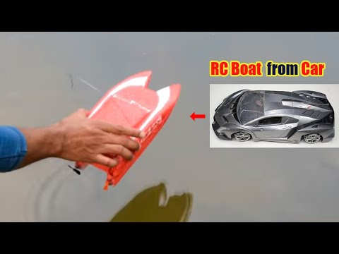 How to Make RC Boat at Home Twin Motor