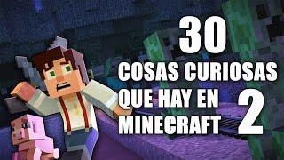 30 cosas curiosas que hay en Minecraft - Parte 2
