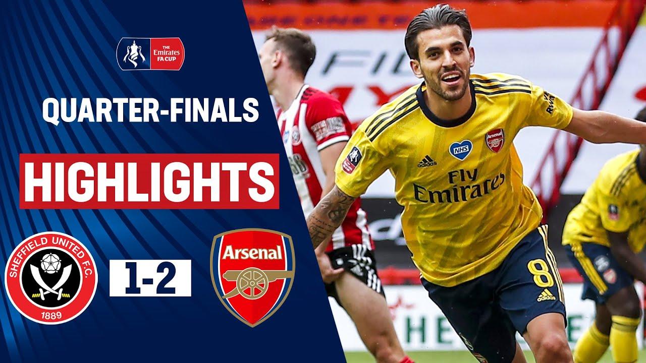Late Ceballos Strike Seals Semi-Final Spot | Sheffield United 1-2 Arsenal | Emirates FA Cup 19/20