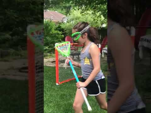 Emma's Lacrosse Tips: How to Hold the Stick