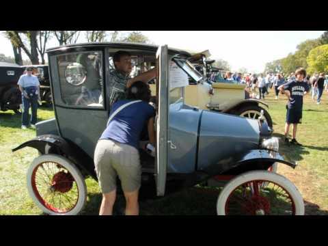 1914 Trumbull Cycle Car at Hershey