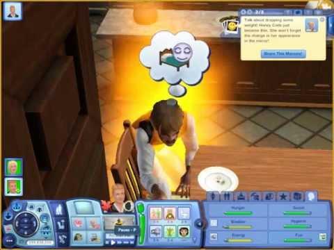 The Sims 3 werewolf transformation