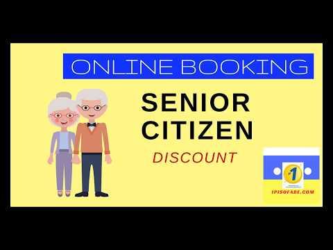 Senior Citizen Discount for Online Ticket Booking