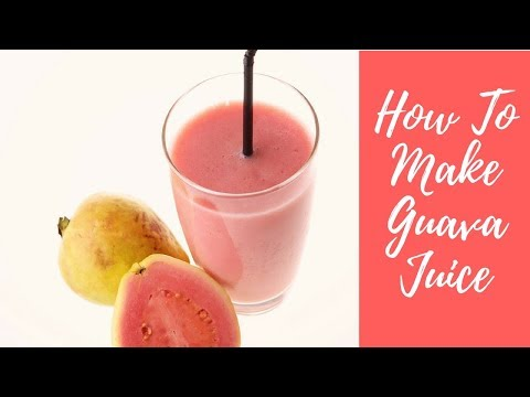 How To Make Guava Juice With Ginger