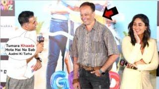Akshay Kumar Makes D!RTY JOKE On A Reporter In Front Of Kareena Kapoor At Good Newwz Trailer Launch
