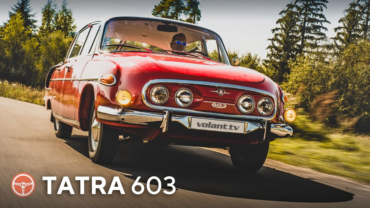 Tatra 603 je Československá legenda - volant.tv